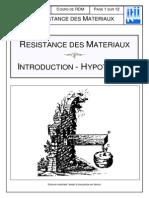 Cours de Résistance Des Matériaux