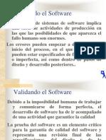 Validando el Software
