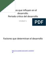 2. Factores Que Influyen en El Desarrollo(2014)