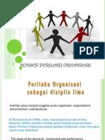 Pengantar Konsep Perilaku Organisasi