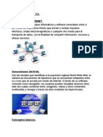 Internet y Web 2.0.