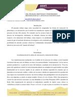 Mutación Del Trabajo, Identidad y Posfordismo Agustin Wydler