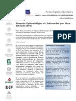 Aviso Epidemiologico EBOLA 101014