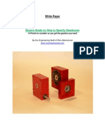 White Paper How to Select Gearboxes