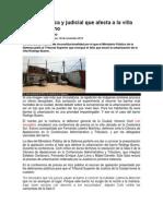 A Pelea Política y Judicial Que Afecta a La Villa Rodrigo Bueno