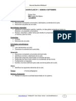 Carta- f. Semantica y Texto Informativo