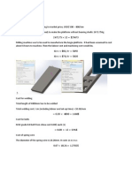 Backup of Cost Calculation for Bogie Plate