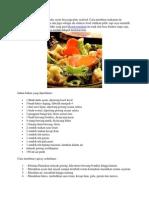 Resep Capcay Sederhana Pake Sayur Bisa Juga Plus Seafood