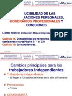 Remuneraciones Personales Honorarios y Comisiones