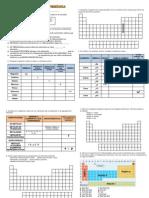 actividades tabla periodica 1° D