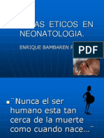 Dilemas Eticos en Neonatologia 2014 Junio