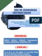 Catalogo de Chamarras Set 2014
