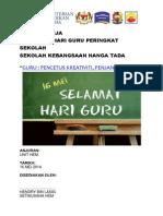 Kertas Kerja Hari Guru