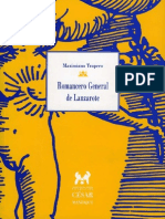 Romancero General del Lanzarote