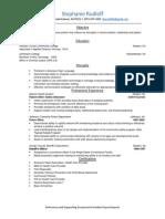 rudloff resume