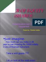 Shares Return (power of equity)
