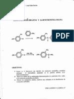 2,4 Dinitrofenilhidrazina y Anilina