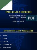 Emociones y Derecho 2014