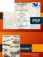 Unidad 1 Generalidades Del Transporte