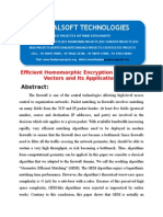 IEEE 2014 .NET IMAGE PROCESSING PROJECT Efficient Homomorphic Encryption on Integer Vectors and Its Applications