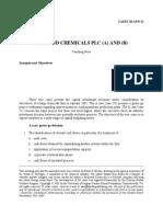 TN20 Diamond Chemicals PLC a and B