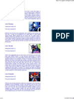 Evangelion Robot List