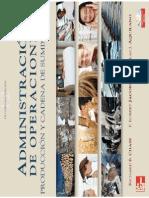 Administración de Operaciones Producción y Cadena de Suministro