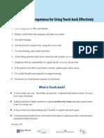 10 Elements of TeachBack