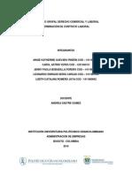 Primera Entrega de Proyecto - Derecho Comercial y Laboral