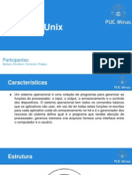 Sistema  Unix