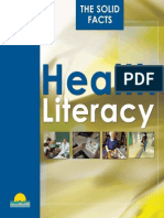 WHO Case for Health Literacy
