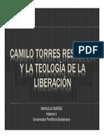 Unidad 6 Camilo Torres Restrepo y la Teología de la Liberación - Estudiante Manuela Noreña - Historia II - Fac. Comunicación Social UPB
