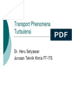 Transport Fenomena Turbulen