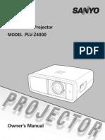 Projector Manual 5627