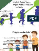 Menganalisis Tugas-Tugas Perkembangan Pada Setiap Fase Individu