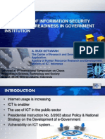 Analysis of Information Security