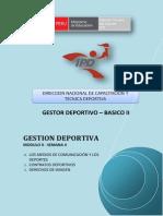 Gestion Deportiva - Módulo II - Semana 4-g05