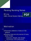 Parsing Nursing Notes