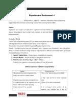 Final Notes Organism.doc
