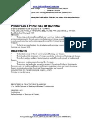 JAIIB-MACMILLAN EBOOK-Principles and Practices of Banking pdf
