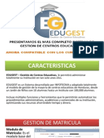 EDUGEST - Software de Gestion Educativa - para instituciones Educativas de Honduras