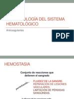 Farmacología Del Sistema Hematológico
