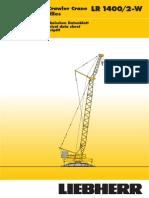 LR 1400 crane