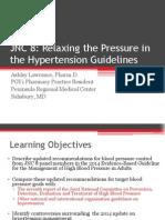 Panduan Hipertensi JNC 8