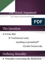 Concept of God Moral Arguments