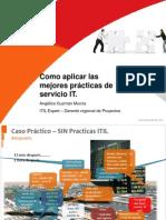 MEJORES PRACTICAS ITIL V3