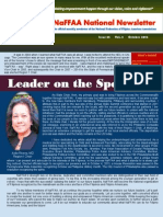 NaFFAA National Newsletter October 2014 Issue