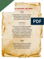 Himno Peru
