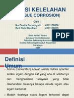 Korosi Kelelahan (Fatique Corrosion)