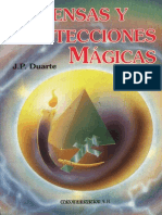 Defensa y Protecciones Magicas